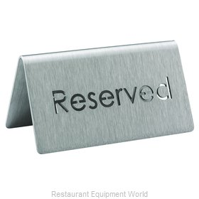 Service Ideas 1C-BF-RESERVED-MOD Beverage Sign