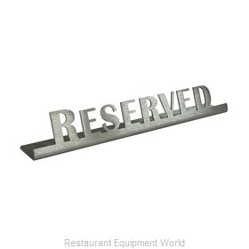 Service Ideas 1C-BF-RESERVED-SIGN Tabletop Sign, Tent / Card