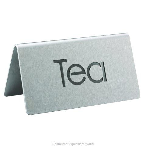 Service Ideas 1C-BF-TEA-MOD Beverage Sign