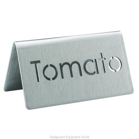 Service Ideas 1C-BF-TOMATO-MOD Beverage Sign