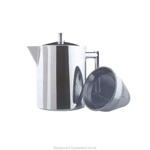 Service Ideas 2109 140 040 Coffee Pot Teapot Stainless Steel Holloware