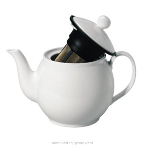 Service Ideas 4245002 China Coffee Pot Teapot