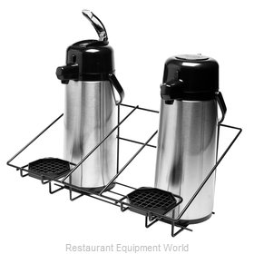 Service Ideas APR2BLC Airpot Serving Rack