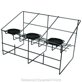 Service Ideas APR3BLC Airpot Serving Rack