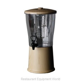 Service Ideas CBDRT3SSLW Beverage Dispenser, Non-Insulated