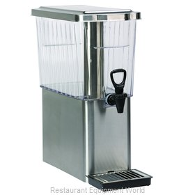 Service Ideas CBDT3SSD Beverage Dispenser, Non-Insulated