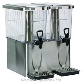Service Ideas CBDT3SSDD Beverage Dispenser, Non-Insulated