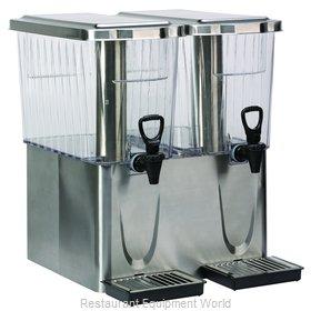 Service Ideas CBDT3SSDD Beverage Dispenser, Non-Insulated