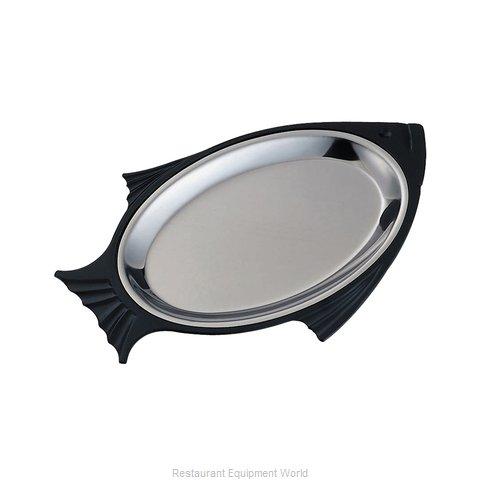 Service Ideas FP1BLC Sizzle Thermal Platter