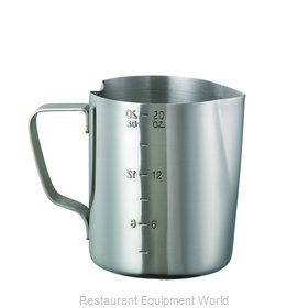Service Ideas FROTH206 Pitcher, Stainless Steel