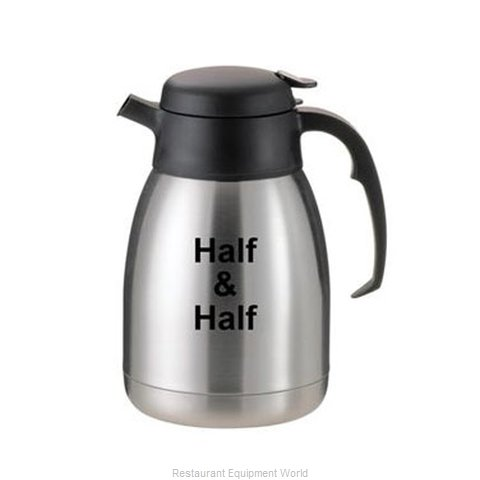 Service Ideas FVP15HALF Coffee Beverage Server Stainless Steel