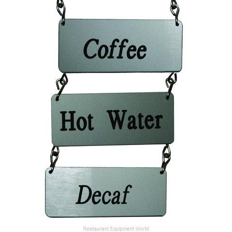 Service Ideas IDVAR Beverage Sign
