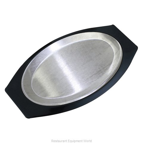 Service Ideas RO117BLAC Sizzle Thermal Platter