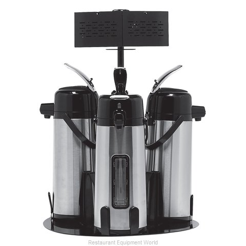 Service Ideas RRA3V2C Airpot Serving Rack