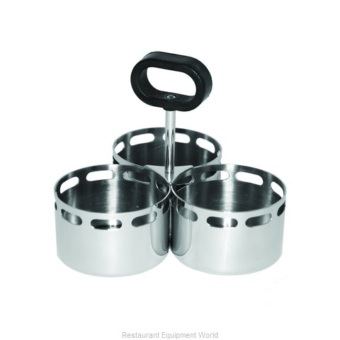 Service Ideas SB-72 Condiment Caddy Tabletop Rack (Magnified)