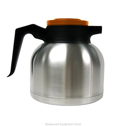 Service Ideas SHS19SD Coffee Beverage Server Stainless Steel