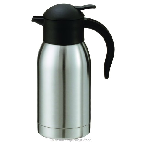 Service Ideas SJ10SS Coffee Beverage Server Stainless Steel