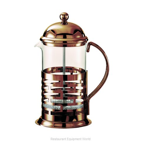 Service Ideas T477BRNZ Coffee Tea Press