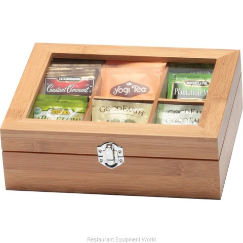 Service Ideas TB006BN Tea Box