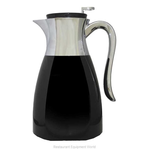 Service Ideas WES1BL Coffee Beverage Server Stainless Steel