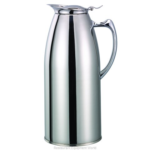 Service Ideas WP15CH Pitcher, Stainless Steel