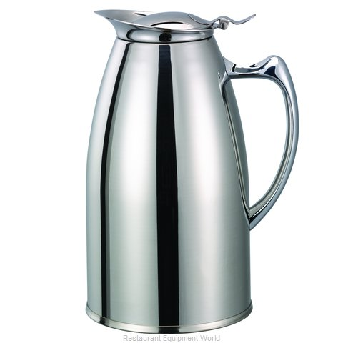Service Ideas WP1CH Pitcher, Stainless Steel