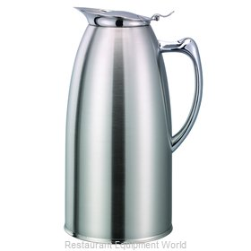 Service Ideas WP20SA Pitcher, Stainless Steel