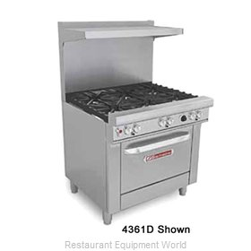 "Southbend 4361A-1G 36"" Wide Range with Oven (SOU-4361A-1G)"