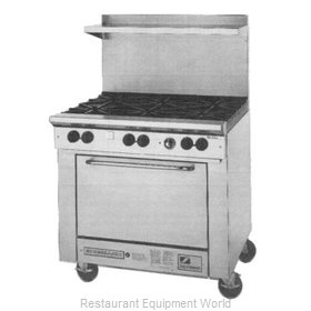Southbend 4361A 36 Wide Range with Oven