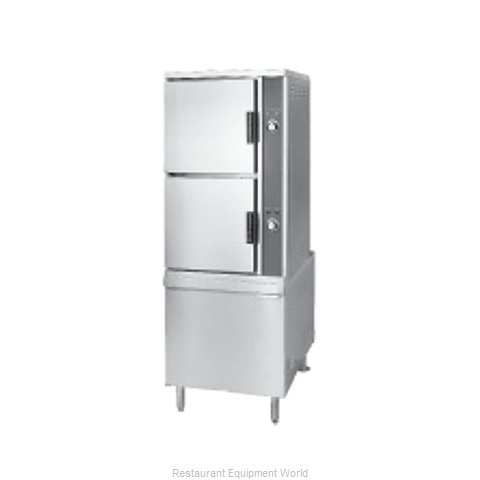 Southbend DCX-2S Steamer, Convection, Direct-Steam, Floor Model