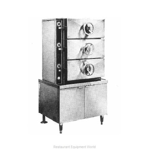 Southbend EC-2S Steamer, Pressure, Electric