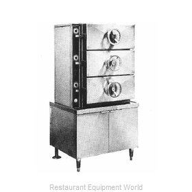 Southbend EC-3S Steamer, Pressure, Electric