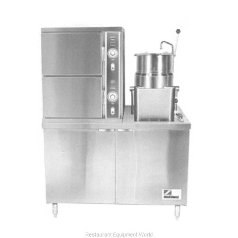 Southbend ECX-2S-10 Steamer Kettle Combination, Electric