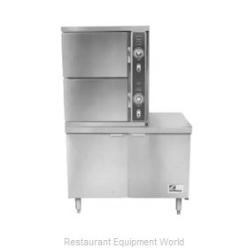Southbend ECX-2S Steamer, Convection, Electric, Floor Model