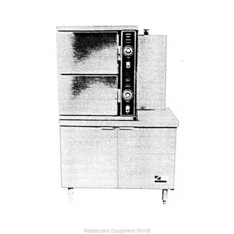 Southbend GCX-2S-36 Steamer, Convection, Gas, Floor Model
