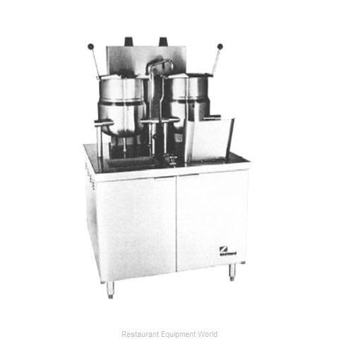 Southbend GMT-6-10 Kettle Cabinet Assembly, Gas