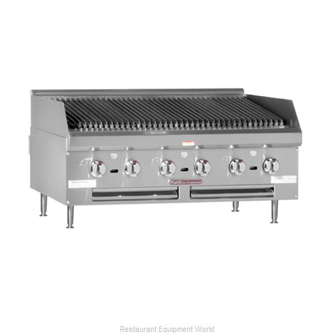 Southbend HDC-60 Charbroiler Gas Counter Model