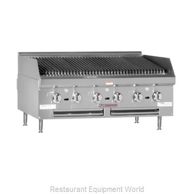 Southbend HDCL-48 Lava Rock Charbroiler