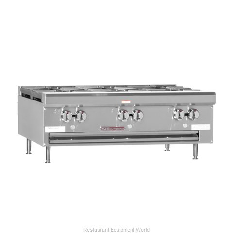 Southbend HDO-48SU Hotplate, Countertop, Gas (Magnified)