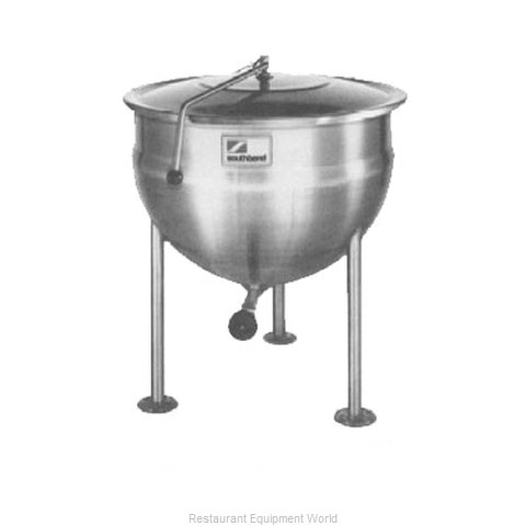 Southbend KDLS-40F Kettle, Direct Steam, Stationary