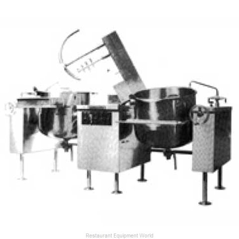 Southbend KDMTL-40-2 Kettle Mixer Twin Unit Direct (Magnified)