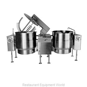 Southbend KEMTL-40-2 Kettle Mixer, Twin Unit, Electric