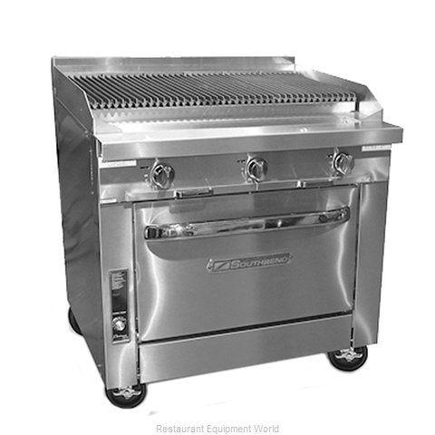 Southbend P36A-CCC Char Broiler Gas Heavy Duty Range 36