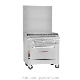 Southbend P48C-CCCC Char Broiler Gas Heavy Duty Range 48