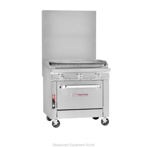 Southbend P48D-CCCC Char Broiler Gas Heavy Duty Range 48 (Magnified)