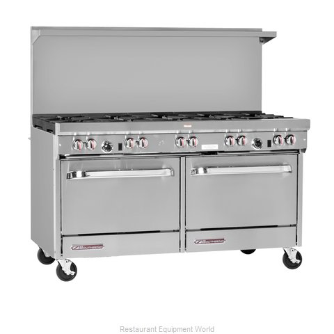 Southbend S60CC-3GL Range 60 4 Open Burners 36 Griddle (Magnified)