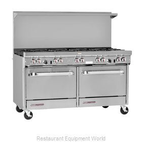 Southbend S60CC-3GL Range 60 4 Open Burners 36 Griddle