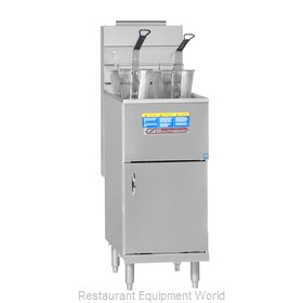 Southbend SB45S Fryer Floor Model Gas Full Pot