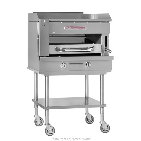 Southbend SSB-45 Griddle on Overfire Broiler, Gas, Countertop