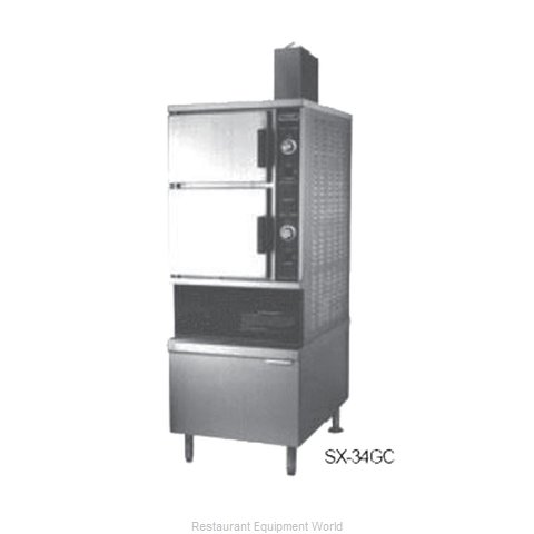 Southbend SX-55GC Steamer, Convection, Gas, Floor Model